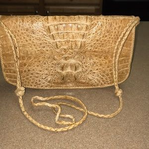 Handbags - Genuine Alligator Crossbody